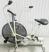 Lot - 2x - Schwinn Airdyne Ad4 Upright Dual Action Wind Resistance Exercise Bike