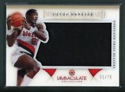 2012-13 Clyde Drexler 31/75 Jersey Panini Immaculate Collection
