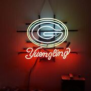 New Green Bay Packers Yuengling Neon Light Sign 24x20 Beer Cave Lamp