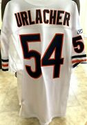 Brian Urlacher Bears 2001 2011 Authentic Reebok Game Model Stitched White Jersey