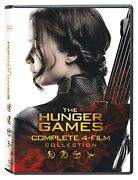 The Hunger Games Collection Dvd, 2016, 8-disc Set With Slipcase