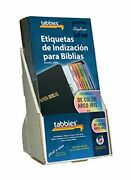 Tabbies 20 Pack With Display Rainbow Spanish Bible Indexing Tabs Old And New Te...