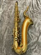 Yanagisawa T-3 Gold Color Tenor Saxophone Wind Instrument Shipped From Japan