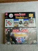 Lot Of 2 New Sealed Pittsburgh Steelers Monopoly Board Games Nfl Football Rare