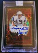 2020 Panini One Lance Alworth Once Upon A Time 5/5 Unique Bambi Sig Ebay 1/1