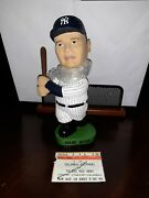 Babe Ruth New York Yankees Bobblehead Bobble Head Sga Clippers With Ticket Stub