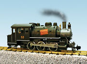 Usa Trains G Scale Dockside 0-6-0t Steam Locomotive R20066 Canadian National 53