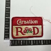 Vtg Nestle Carnation R And D Canned Milk And More Advertising Patch Dairy 14e7