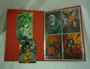Lot 37 1993 Marvel Masterpieces Cards Plus Vampirella And Wildc.a.t.s 21d026