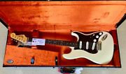 Fender Vintage Hot Rod And03960s Stratocaster - Hscs All Tags And Candy Olympic White