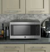 New Ge 1.6 Cu. Ft. Microwave W/ Sensor Cooking 1150w Stainless Steel Jes1657smss