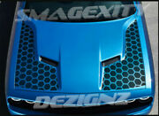 Hood Decal Kit Graphic 2015-2019 For Challenger Scat Pack Rt Honeycomb Hemi 392