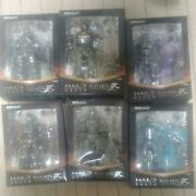 Square Enix Halo Reach Play Arts Lot Of 6 Figure Shipped From Japan