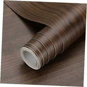 Wood Contact Paper 24 X 196 Inches Docorative Self Adhesive Wallpaper Walnut
