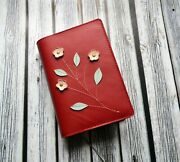 Bible Leather Cover Jw Nwt Red Women Baptism Gift Jehovah's Witness