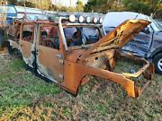 Jeep Wrangler 4 Door Jk Body Fire Damaged Salvage Off Road Trail Jeep Mud Buggie