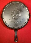 Griswold Cast Iron Size 10 Skillet Block Heat Ring 716 A