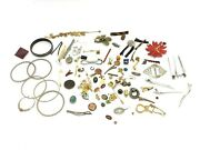 Mixed Vintage Lot Used Costume Jewelry Pins Brooches Claps Estate Finds
