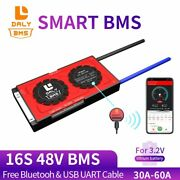 Smart Bms 16s 48v Free Bluetooth 18650 Battery Pack Protection Board 3.2v Lifep