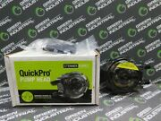 Used Stenner Qp102-1g1 2 Quickpro Pump Head W/ferrules 1/4 And Duckbill 13g535
