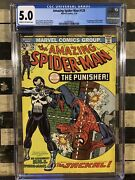 Amazing Spiderman 129 The Punisherandnbsp 5.0 Affordable And Very Very Hot