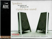 Altec Lansing Vs2620 Stlylish Computer And Gaming Speakers Nib Never Used