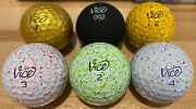 18 Vice Golf Balls Lime Red Blue Taxi Drip Gold And Black Limited Edition