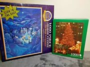 Bits And Pieces The Road To Christmas 1000 Piece Puzzle -new Sealed Jigsaw