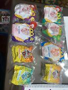 1994 Mcdonalds Animaniacs Lot 8 Vintage Collectible Htf New Free Shipping