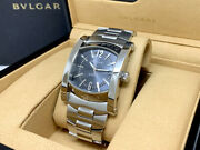 Bvlgari Aa48s Stainless Steel Self-winding Menand039s Wristwatch Shipped From Japan