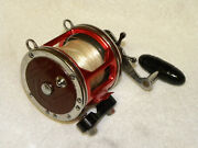 Penn/accurate 113h-4/0 Special Senator Fishing Reel With Red Accurate Frame
