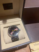 Louis Vuitton Q11310 Stainless Steel Self-winding Wristwatch Shipped From Japan