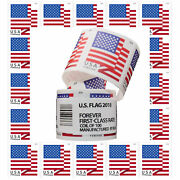 Us American Forever Flag Stamps 2018 Year -free Shipping 1 Roll Coil Sealed