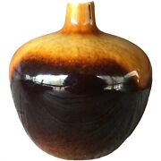 Vintage Drip Glaze Pottery 5 1/2andrdquo Bud Vase Late 1960and039s Mid 70andrsquos