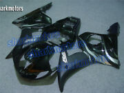 Fairing Black Injection Fit For Yzf R6 2003-2004 R6s 2006-2009 Plastic Kit Aa9