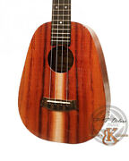 Kanileand039a P-1 T Dlx Deluxe Curly Pineapple Shaped Tenor Ukulele 24272