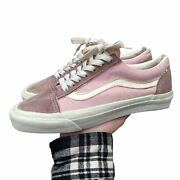Vintage Made In Usa Vanandrsquos Old Skool Shoes Pink Not Sure About Size