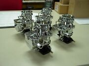 4 Brand New 1932 Ford Roadster Coupe Chrome Stromberg 97 Carb Carburetors