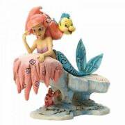 Disney Traditions Ariel The Little Mermaid Dreaming Under The Sea By Jim Shore
