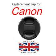 Replacement Front Lens Cap For Canon Ef 50mm F/1.4 Usm And Ef 85mm F/1.8 Usm