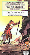 Beatrix Potter The Tale Of Mr. Tod Collectors Edition-1996 Vhsships Same Day