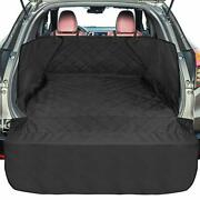 Suv Cargo Liner For Dogs F-color Upgraded Waterproof Pet Cargo Cover