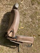 Mgb Right Seat Good Back With Headrest 1977-1980 Textured Tan Color