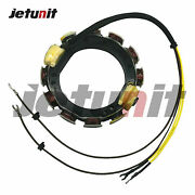 For Johnson Evinrude Outboard Stator 582099 581680 1973-1977 85-140hp 12amp4cyl