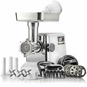 The Powerful Stx Turboforce Classic 3000 Series Electric Meat Grinder And Sausage