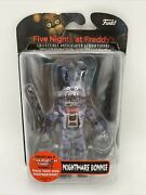 Funko Toys Fnaf Five Nights At Freddyand039s - Nightmare Bonnie 5in Action Figure