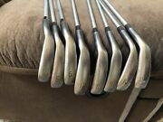 Nakashima Tour Forged Np 3.5+ Golf Iron Setpured Kbs Tour 130 X Shaft4-gw