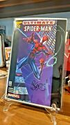 Ultimate Spider-man 1/2 Wizard Mail Away Exclusive Coa Nm Bendis Sig