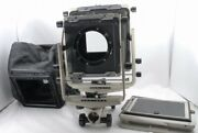 Toyo View 5x7 Monorail Camera W/4x5 Back Glass And Wide Bellows12302