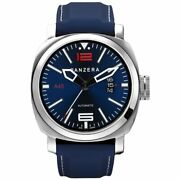 Panzera Menand039s Atlantic Blue Fathom Mk2 45mm Watch A45-01bsr8 Rrp Andpound385.00